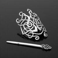 Viking Celtic Haarspangen Haarnadel Viking Haarspangen Damen Haarschmuck Vintage