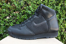 NIKE LAVA DUNK HIGH SZ 8 TRIPLE BLACK 454480 003