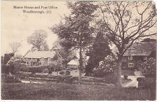 More details for manor house and post office, woodborough - wiltshire  postcard (ref 2415/20/8 x)