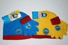 Kids Thomas /& Friends Bobble Hat /& Magic Gloves Set Navy Pom Pom Childs One Size