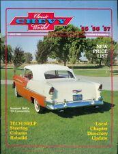 1983 Classic Chevy World Magazine: Stennett Bell '55 Convertible/Steering Column