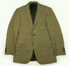 Aquasutum Wool Cashmere Puppytooth Sport Coat Blazer Men's 40R fits 39 Brown