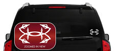Under Armour Bow Hunting Car/SUV/Truck/Boat Vinyl Decal/Sticker iPad macbook