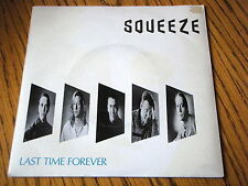 """SQUEEZE - LAST TIME FOREVER   7"""" VINYL PS"""
