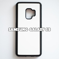 2D Rubber Sublimation Blank Case for Samsung Galaxy S9