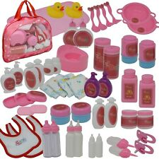 More details for the new york doll collection 50 pc baby doll feeding & caring accessory set