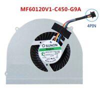 CPU Cooling Fan For Dell Latitude E6530 MF60120V1-C450-G9A CPU FAN 4 PIN PA