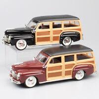 1:43 vintage 1948 Ford Woody woodie station wagon metal diecast models car toys
