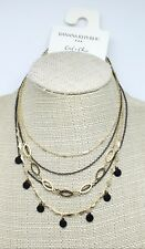 Gorgeous New Multi Strand Gold Necklace by Banana Republic $40 Tags #BRN27