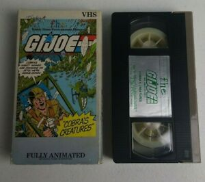 G.I. Joe Volume 5 Cobra's Creatures Animated Cartoon VHS