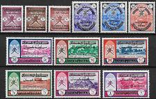 1971 Oman ordinaria 12v. MNH Yvert n. 104A/15