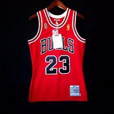 100% Authentic Michael Jordan Mitchell Ness 96 97 Finals Bulls Jersey Size 36 S