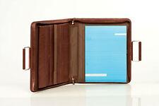 PIquadro Tamponato tan leather mini-laptop briefcase/compendium PB1166TP/M