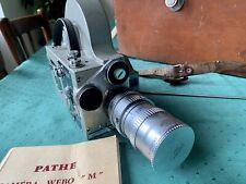 Camera Pathé Webo M Reflex (16 mm) + Objectif
