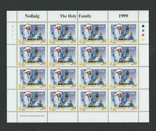 IRELAND Stamps: Sheetlet – 1999 Christmas – Holy Family -16 x 30p MNH SG1279