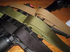 Mil-spec nylon 3 point CQB sling, USA made for AR 15, Ruger Mini, & AK platforms