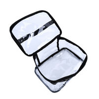 Transparent Clear Cosmetic Toiletry Travel Wash Makeup Bag Storage Pouch shan