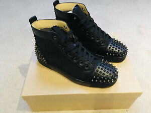 Christian Louboutin Lou Spikes 2 High Top Sneakers (43) 9UK Authentic