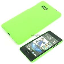 Green Hard Back Case Cover for HTC Desire 600 Dual Sim 606w
