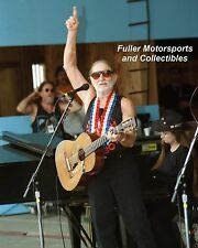 Willie Nelson Unpublished 8X10 Concert Photo Ohio 1998 Jamboree In The Hills
