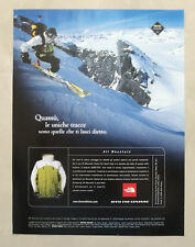 A880-Advertising Pubblicità-1999 - THE NORTH FACE - ABBIGLIAMENTO