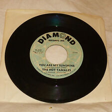 NORTHERN GROUP SOUL 45RPM RECORD - THE HOT TAMALES - DIAMOND 210