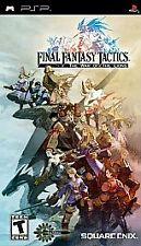 Final Fantasy Tactics: The War of the Lions (Sony PSP, 2007) - Complete