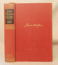 JAMES MADISON: THE VIRGINIA REVOLUTIONIST 1751-1780 by Irving Brant BIOGRAPHY