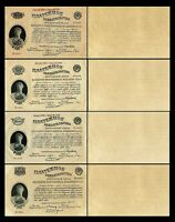 Russie - 2x 100,250,500,1.000 Roubles - Edition 1924 - 1929 - Reproduction - 22