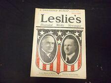 1920 JULY 10 LESLIE'S WEEKLY MAGAZINE - HARDING & COOLIDGE - ST 2293