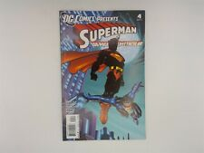 DC Comics Presents: Superman #4 DC Comics 2011 VF 100 Page Spectacular!