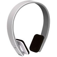 Auriculares de Diadema Inalambricos Bluetooth BTH-204 color Blanco Auricular