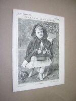 1875. INFANT'S MAGAZINE. ORIGINAL VICTORIAN CHILDREN'S PAPER. SINGLE ISSUE no117