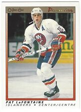1990-91 OPC PREMIER HOCKEY #56 PAT LAFONTAINE - NEAR MINT