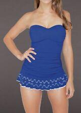 Swimdress Plus Solid 20W Swimwear for Women