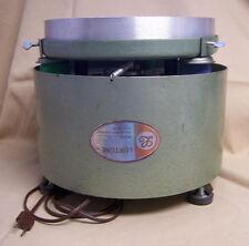 "Lortone FL-10 Oscillating Vibrating Flat Lap Lapidary shaker 10"" tray vibrator"