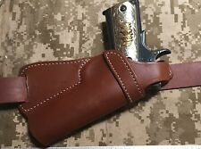 Colt Ruger RIA 45 Model 1911 Small of the Back SOB Leather Thumb Break Holster