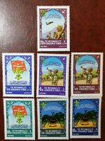 Yemen - 1967 - world scout jamboree Idaho -  stamps - MNH 7 set