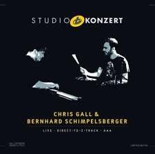 CHRIS GALL & BERNHARD SCHIMPELSBERGER  - Studio Konzert (180g) LP