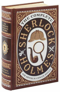 THE COMPLETE SHERLOCK HOLMES by Arthur Conan Doyle Leather Bound New Sealed