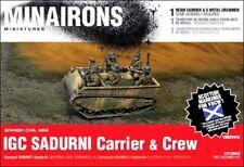 Minairons 1:72 IGC Sadurní carrier & crew - 20mm Spanish Civil War