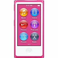 Apple iPod Nano 7th Generation 16GB PINK (16GB) 3A655LL/A 3 LINES ON SCREEN !!