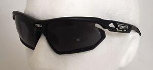 Rudy Project FOTONYK Sunglasses Black Frame SMOKE Black Lens Ref:451