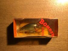 "Bomber Lures "" MEDIUM RUNNER "" model A  vintage lure in box"