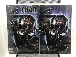 Thor #9 (2020) Mico Suayan Variant TRADE & VIRGIN SET Cates NM (9.8) Slab City