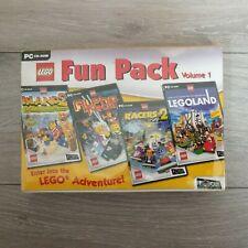 Lego Fun Pack Vol 1 PC Racers 2/Island 2/Legoland/Alpha Team
