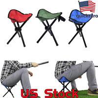 Triangle Chair lightweight Camping Hiking Fishing Folding Stool Outdoor Tripod