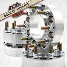 "USA MADE 8 Lug 6.5"" to 8x180mm CHEVY HUB CENTRIC Wheel Spacer/adapt  2"" Thick x4"