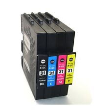 Sublimation GC31 KMYC Ink Cartridge for Ricoh GXe2600/e3300/e3300N/e3350N/e5050N
