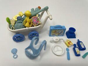 Barbie Krissy Kelly Doll Baby NURSERY Lot Accessories PLAY TOYS